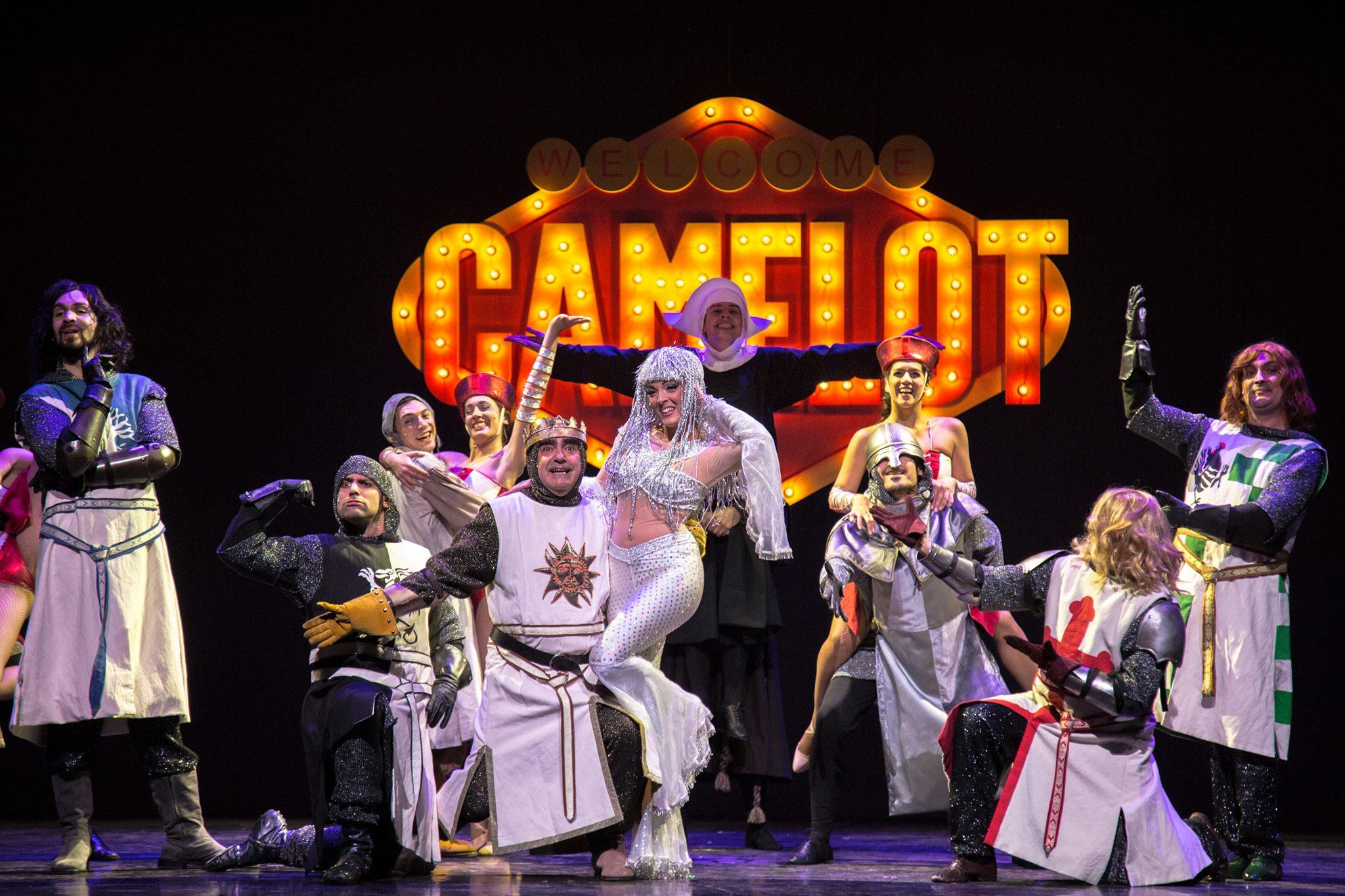 Ufficio Stampa Teatro Nuovo : Spamalot u2013 il musical dal 17 novembre 2017 al 6 gennaio 2018 al