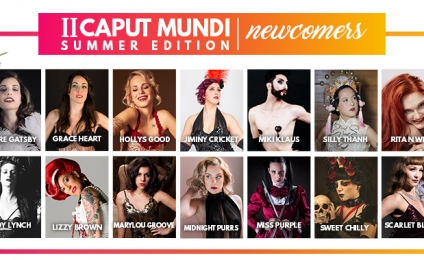 Caput Mundi Summer Edition al Gay Village dal 15 al 17 giugno 2018