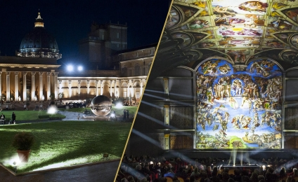 Giudizio Universale. Michelangelo and the Secrets of the Sistine Chapel all'Auditorium della Conciliazione tutti i venerdì d'estate sino ad ottobre